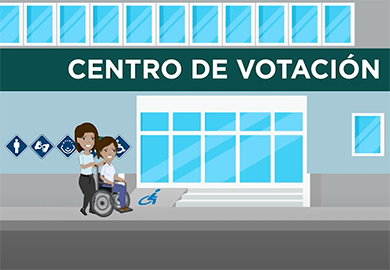 Screenshot from a Guatemalan voter education video