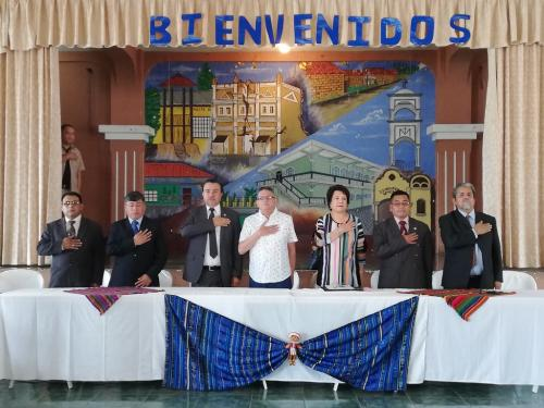 Guatemalan Political Parties in 42 Municipalities Commit to Peaceful Electoral Process