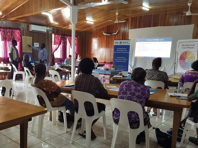 Bougainville Election Commission Launches Strategic Plan