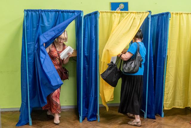 Ukrainians Vote in 2019 Early Parliamentary Elections