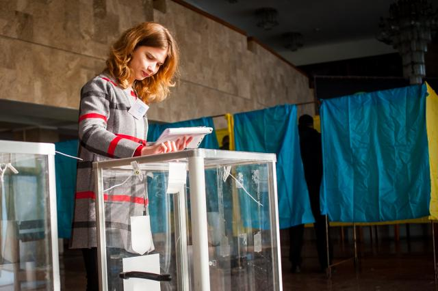 Ukrainians Vote in Two-Round Presidential Election