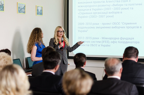 IFES and Ukraine's Central Election Commission Open Administrative Center for Trainings of Election Process Participants