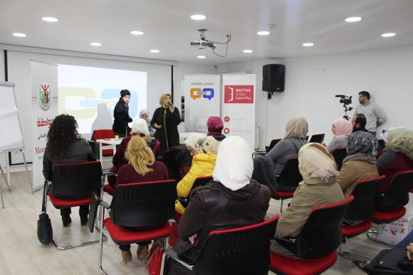 Youth Forums Offer Hope to Young Syrians