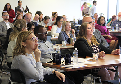 IFES staff from the field and headquarters were trained on a variety of topics.