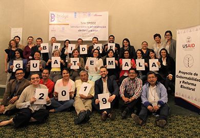First cohort of BRIDGE participants in Guatemala