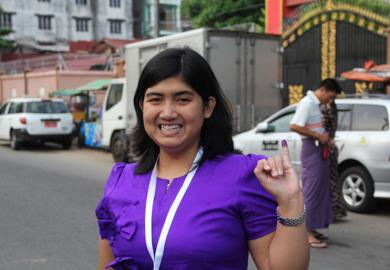 First-Time Voter, Thundar Myo Nyunt, Myanmar