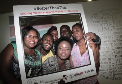 "Kenyans Say ""We are #BetterThanThis,"" Aiming to Support Women's Participation in Elections featured image"