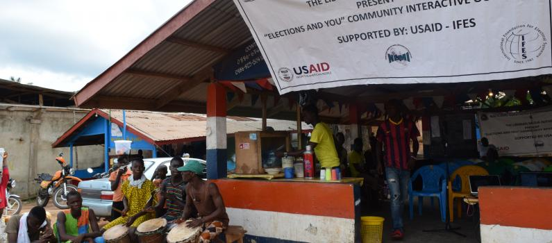 """""""Elections and You"""" Promotes Peaceful Polls in Liberia"""