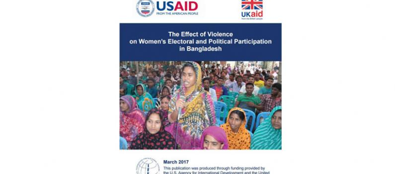 The Effect of Violence on Women's Electoral and Political Participation in Bangladesh Featured Image