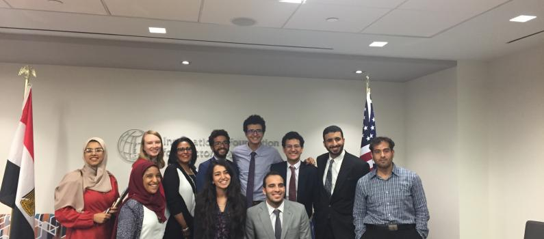 Egyptian Students Visit IFES as Part of Exchange Program feature image