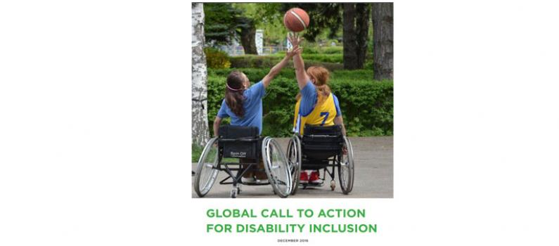"""IFES Signs """"Global Call to Action for Disability Inclusion"""" Featured Image"""