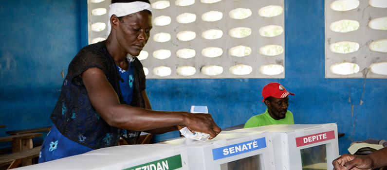 Haiti's 2016 Presidential Election: Another Step Toward Democracy