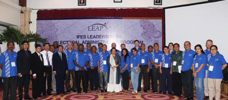 IFES Pilots the Leadership in Electoral Administration Program in Bali, Indonesia Featured Image