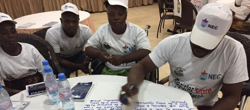 IFES Trainings Build Electoral Inclusion Capacity in Liberia Featured Image