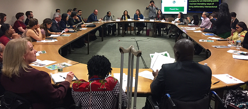 IFES cohosted a panel discussion on intersectionality and political participation at the United Nations headquarters.