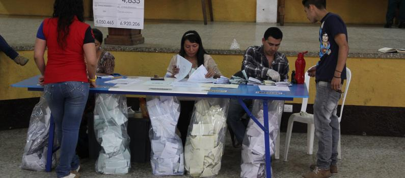 New Electoral Governance and Reforms Project in Guatemala Featured Image