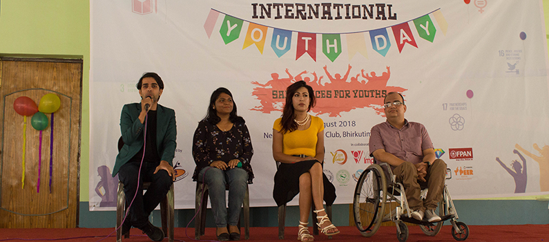 International Youth Day panel discussion