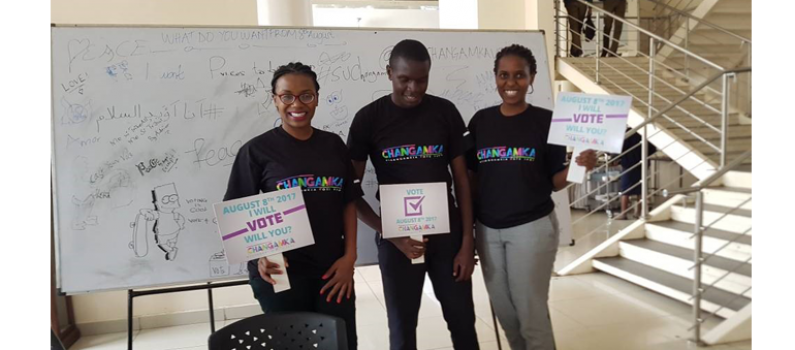 Kenya's Campus Ambassadors Help Get out the Youth Ahead of August Polls Featured Image