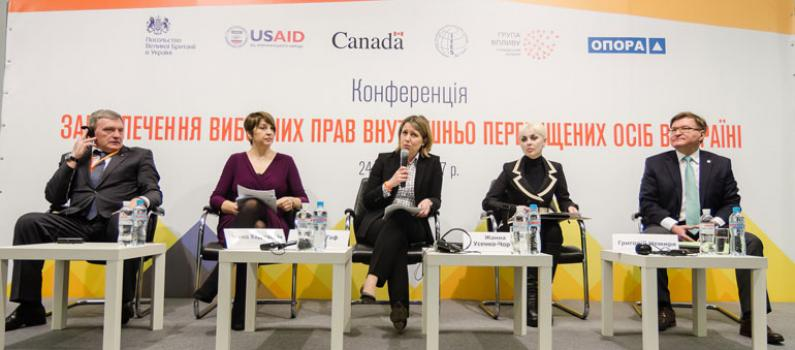 Uniting for the Electoral Rights of Ukraine's Internally Displaced Community Featured Image