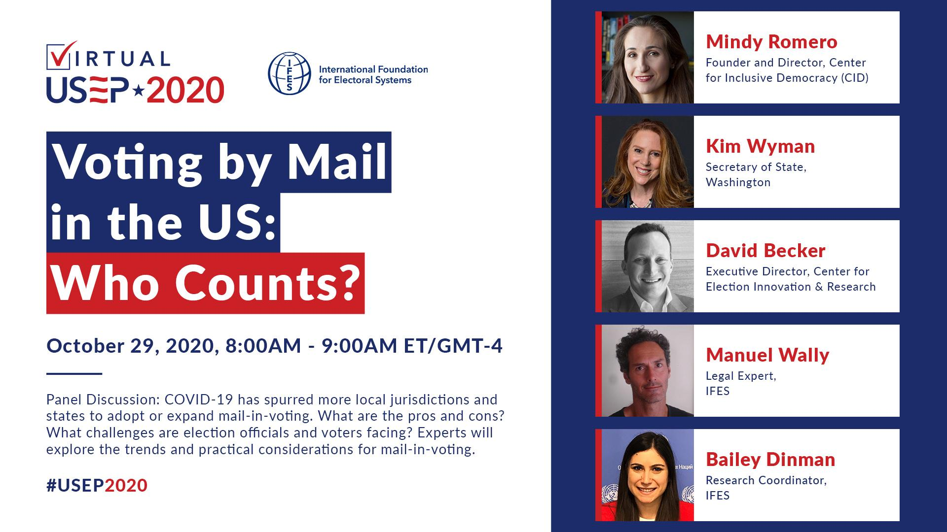 Voting by Mail in the U.S.: Who Counts?