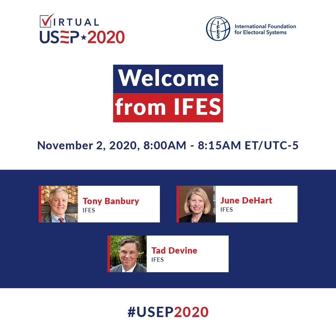Welcome from IFES