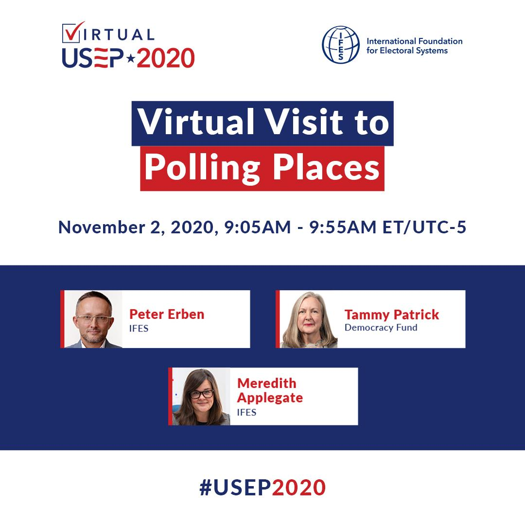 Virtual Visit to Polling Places