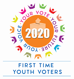 Your Voice, Your Vote, Your Future program logo