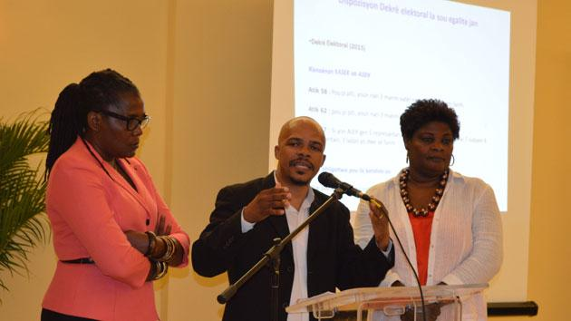 Haiti's National Gender and Elections Strategy image