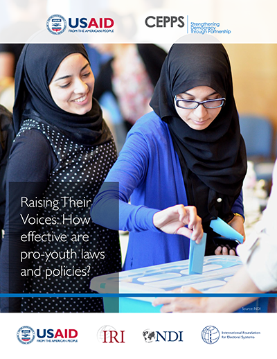 A new report analyzes four pro-youth legal and political mechanisms and offers recommendations for funders, implementers and local partners, considering the implications of youth quotas and more.