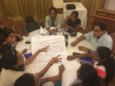 Gender advocates brainstorm ideas for Constitutional reform.