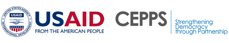 USAID and CEPPS logos