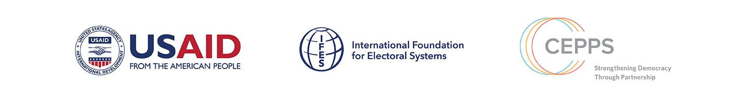 USAID IFES and CEPPS logos