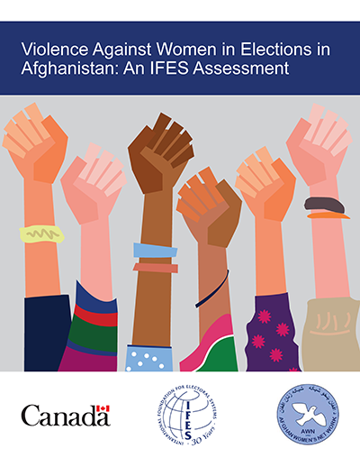 "Cover of ""Violence Against Women in Elections in Afghanistan: An IFES Assessment"""